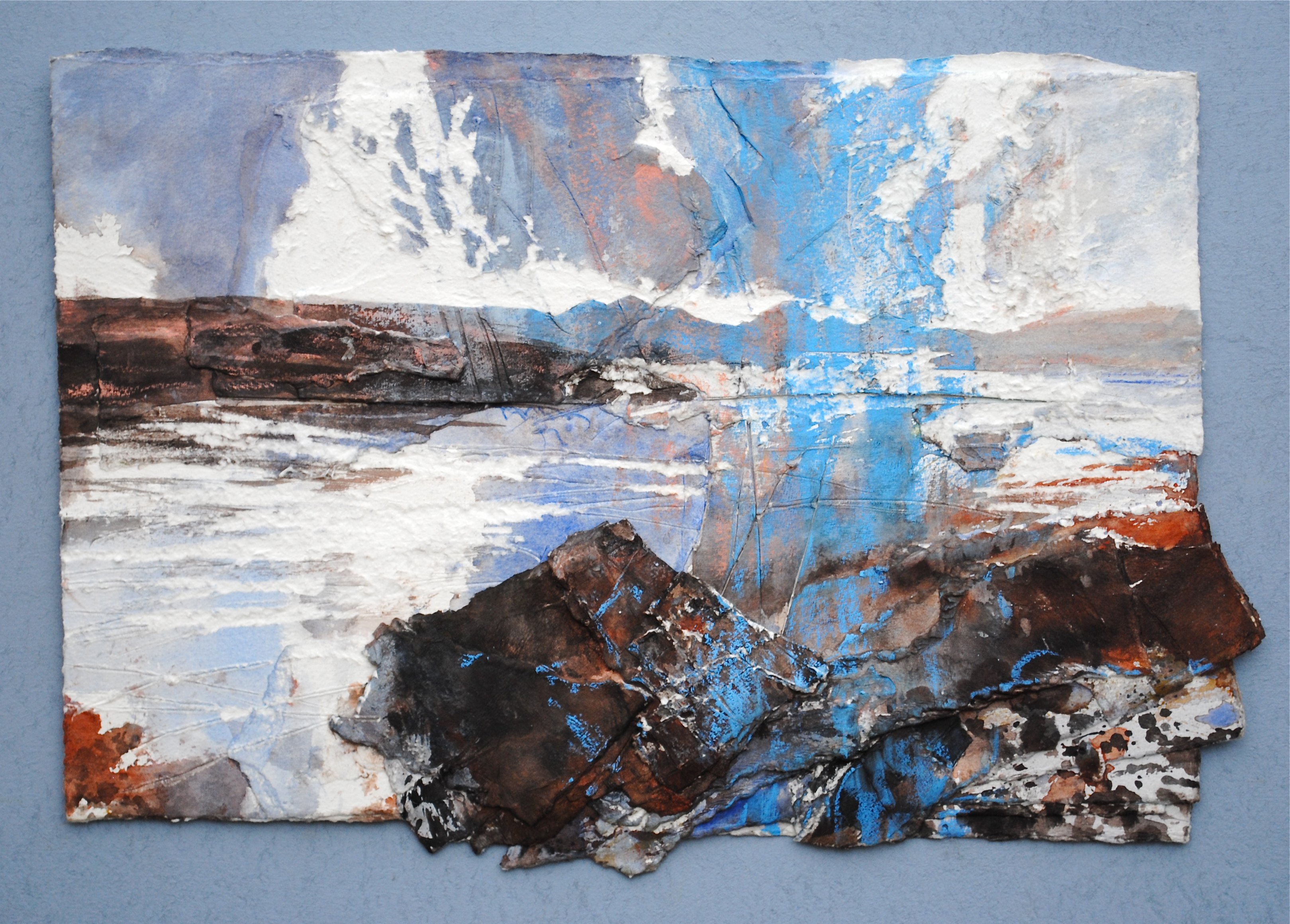 David-Tress-Distant-Skye-Loch-Kishorn-mixed-media-on-paper-36x52cm-2015