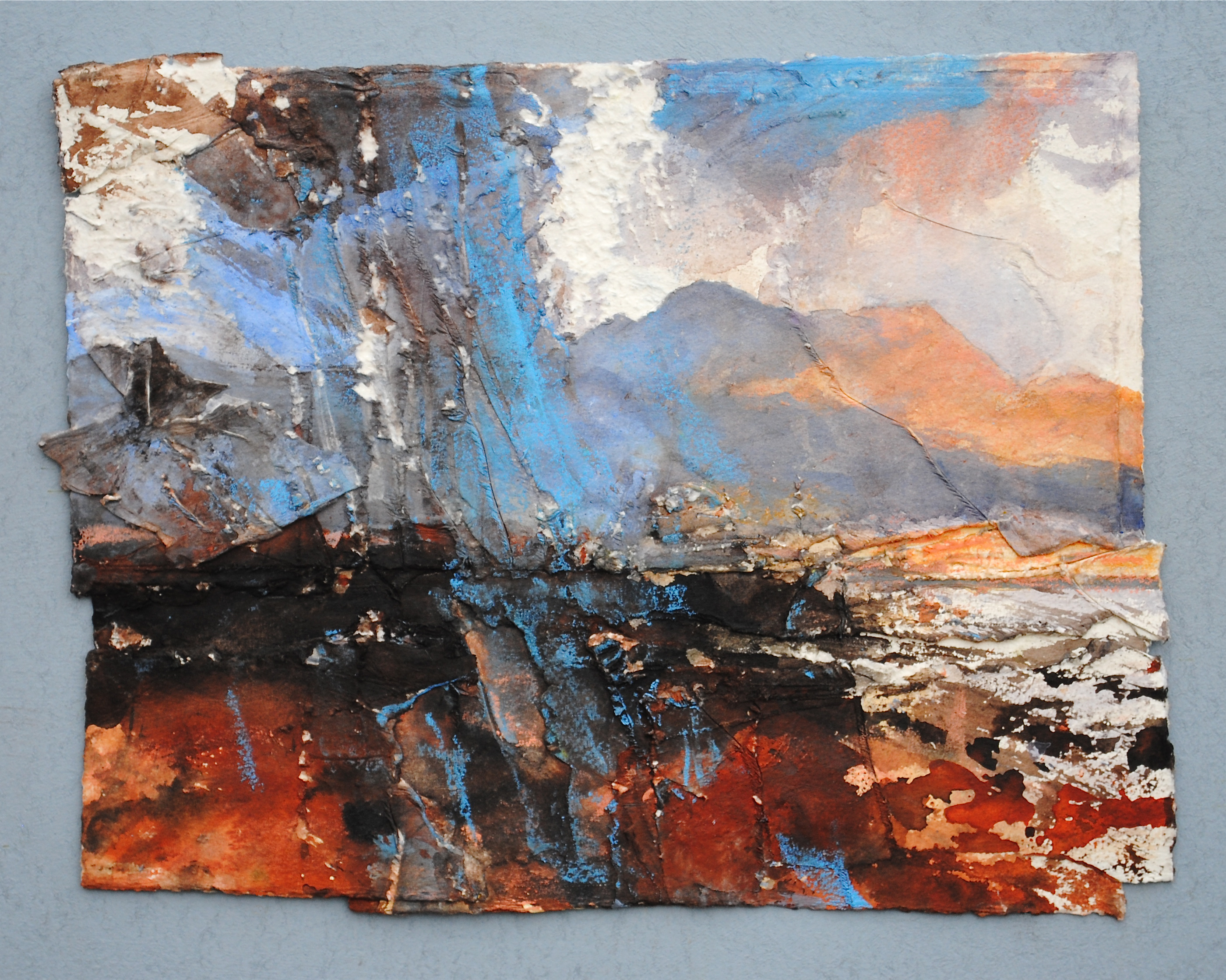 David-Tress-The-Cuillins-From-Raasay.-I-mixed-media-on-paper-32x41cm-2015