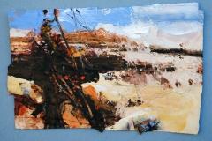 David-Tress-A-Cool-Day-Trevalga-Autumn-mixed-media-on-paper-45x68cm-2014