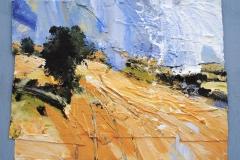 David-Tress-English-Harvest-Landscape-II-mixed-media-on-paper-48x61cm-2015