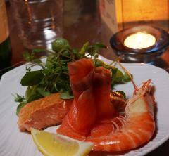 Sea Food plate website