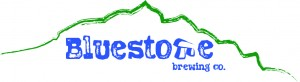 Bluestone Brewing Logo Long